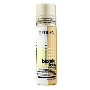 Redken Blonde Idol Custom-Tone Adjustable Color-Depositing Daily Treatment (For Warm or Golden Blondes)