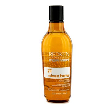 Redken Men Clean Brew Extra Cleansing Shampoo (Extra Clean Hair, Balanced Scalp)