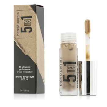 Bare Escentuals BareMinerals 5 In 1 BB Advanced Performance Cream Eyeshadow Primer SPF 15 - Barely Nude