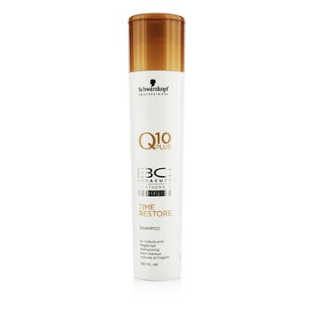 Schwarzkopf BC Time Restore Q10 Plus Shampoo (For Mature and Fragile Hair)