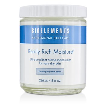 Bioelements Really Rich Moisture (Salon Size, For Very Dry Skin Types)