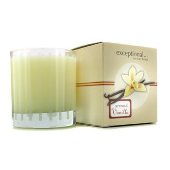 Exceptional Parfums Fragrance Candle - Sensual Vanilla