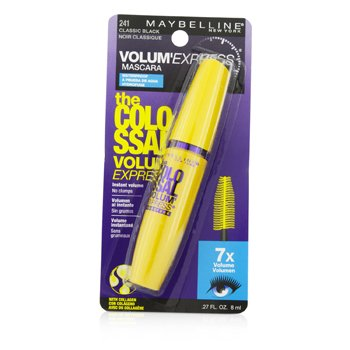 Maybelline Volum Express The Colossal Waterproof Mascara - #Classic Black