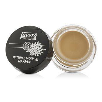 Lavera Natural Mousse Make Up Cream Foundation - # 01 Ivory