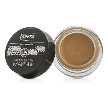 lavera natural mousse make up cream foundation 05 almond 15g lavera complexion natural. Black Bedroom Furniture Sets. Home Design Ideas