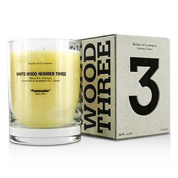 Baxter Of California Scented Candles - White Wood Three