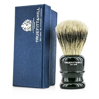 Truefitt & Hill Wellington Super Badger Shave Brush - # Faux Ebony