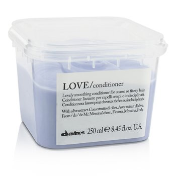 Davines Love Conditioner (Lovely Smoothing Conditioner For Coarse or Frizzy Hair)