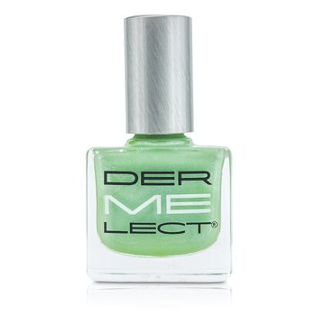 Dermelect ME Nail Lacquers - Au Courant (Mint Hemlock With White Accents)