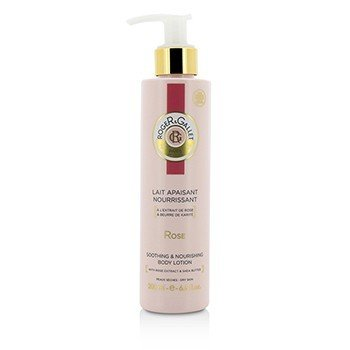 Roger & Gallet Rose Body Lotion (with Pump)
