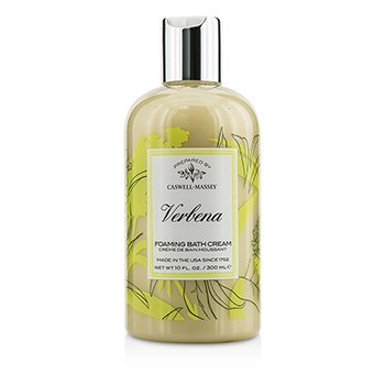 Caswell Massey Verbena Foaming Bath Cream