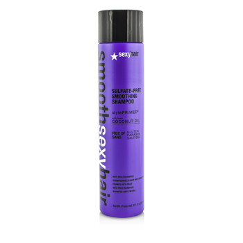 Sexy Hair Concepts Smooth Sexy Hair Sulfate-Free Smoothing Shampoo (Anti-Frizz)