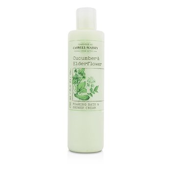 Caswell Massey Cucumber & Elderflower Foaming Bath & Shower Cream