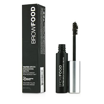 LashFood BrowFood Tinted Brow Enhancing Gelfix - # Dark Brunette