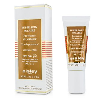Sisley Super Soin Solaire Youth Protector For Face SPF 50+