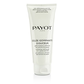 Payot Les Demaquillantes Gelee Gommante Douceur Exfoliating Melting Gel - Salon Size