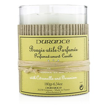 Durance Perfumed Smart Candle - Citronella and Geranium