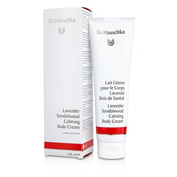 Dr. Hauschka Lavender Sandalwood Calming Body Cream - Soothes & Relaxes