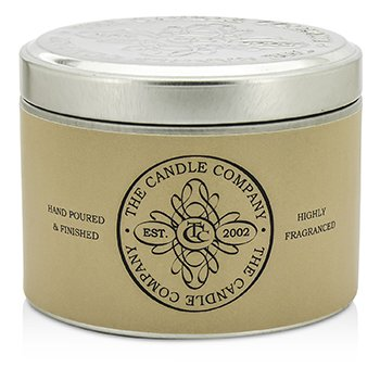 The Candle Company Tin Can Highly Fragranced Candle - Stone Washed Driftwood