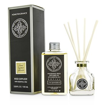 The Candle Company Reed Diffuser with Essential Oils - Stone Washed Driftwood