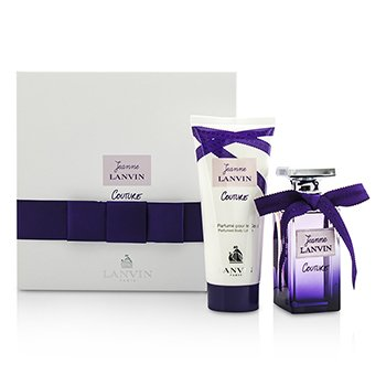 Lanvin Jeanne Lanvin Couture Coffret: Eau De Parfum Spray 50ml + Body Lotion 100ml