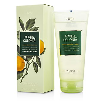 4711 Acqua Colonia Blood Orange & Basil Aroma Shower Gel