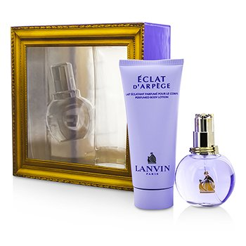 Lanvin Eclat DArpege Coffret: Eau De Parfum Spray 50ml + Body Lotion 100ml