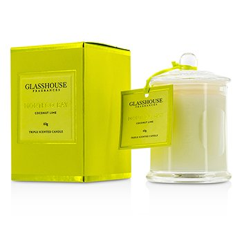 Glasshouse Triple Scented Candle - Montego Bay (Coconut Lime)