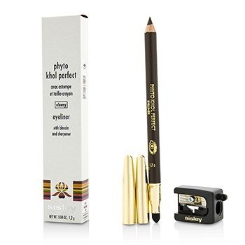 Sisley Phyto Khol Perfect Eyeliner (With Blender and Sharpener) - #10 Ebony