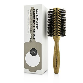 Kevin Murphy Large Roll.Brush - Round 70mm (Boar & Ionic Bristles, Sustainable Bamboo Handle)