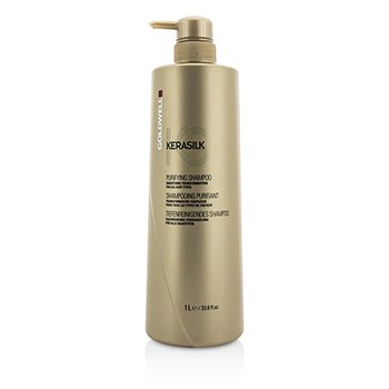 Goldwell Kerasilk Purifying Shampoo - Smoothing Transformation (For All Hair Types)