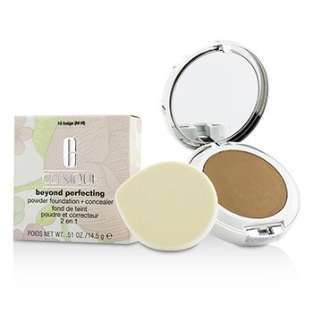 Clinique Beyond Perfecting Powder Foundation + Corrector - # 15 Beige (M-N)