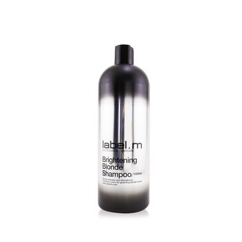 Label M Brightening Blonde Shampoo (Gently Cleanses and Strengthens, Brightens Colour For Glistening Blonde Tones)