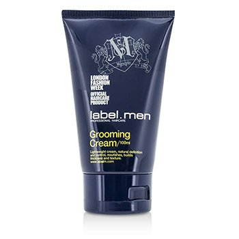 Label M Mens Grooming Cream (Lightweight Cream, Natural Definition and Control, Nourishes, Builds Thickness and Texture)