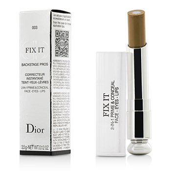 Christian Dior Fix It Backstage Pros Concealer - #003 Dark F092957003