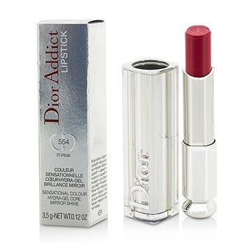 Christian Dior Dior Addict Hydra Gel Core Mirror Shine Lipstick - #554 It Pink