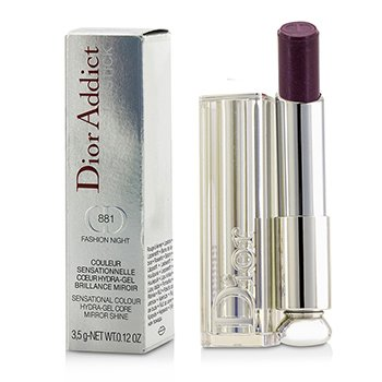 Christian Dior Dior Addict Hydra Gel Core Mirror Shine Lipstick - #881 Fashion Night