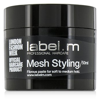 Label M Mesh Styling (Fibrous Paste For Soft to Medium Hold)