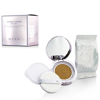 Hera UV Mist Cushion Mineral Clay Water & Smart Layer UV Complex SPF50 With Extra Refill - #C23