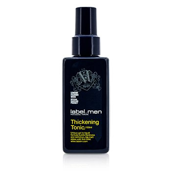 Label M Mens Thickening Tonic (Unique Gel to Liquid Formula Builds Thickness and Definition For Big Matt Styles with Firm Hold)
