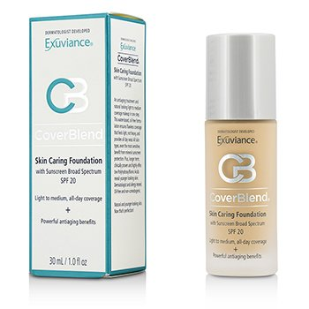 CoverBlend Skin Caring Foundation SPF20 - # Blush Beige