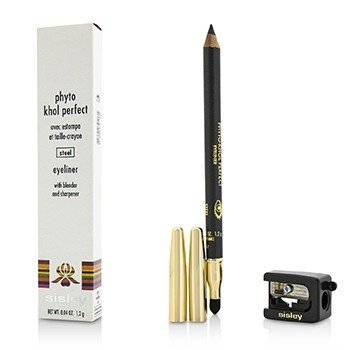 Sisley Phyto Khol Perfect Eyeliner (With Blender and Sharpener) - # Steel