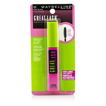 Maybelline Great Lash Mascara with Classic Volume Brush - #101 Very Black