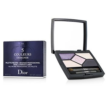 Christian Dior 5 Couleurs Designer All In One Professional Eye Palette - # 808 Purple Design