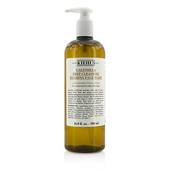 Kiehls Calendula Deep Cleansing Foaming Face Wash
