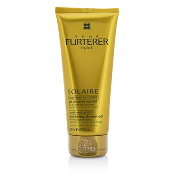 Rene Furterer Solaire Nourishing Shower Gel with Jojoba Wax (Hair and Body)