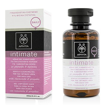 Apivita Intimate Gentle Cleansing Gel For The Intimate Area For Daily Use with Chamomile & Propolis