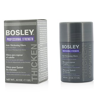 Bosley Professional Strength Hair Thickening Fibers - # Gray