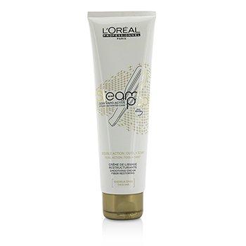 LOreal Professionnel Steampod Steam Activated Care Smoothing Cream (For Thick Hair)