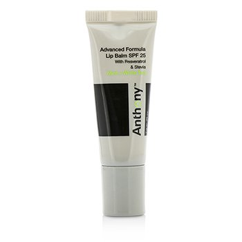Anthony Logistics For Men Advanced Formula Lip Balm SPF 25 - Mint And White Tea